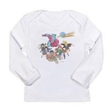 By Our Powers Combined Long Sleeve Infant T-Shirt