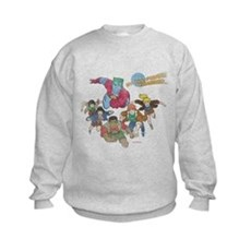 By Our Powers Combined Kids Sweatshirt