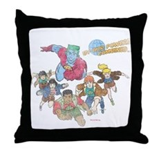 By Our Powers Combined Throw Pillow