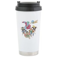 By Our Powers Combined Stainless Steel Travel Mug