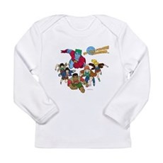 Captain Planet Powers Long Sleeve Infant T-Shirt