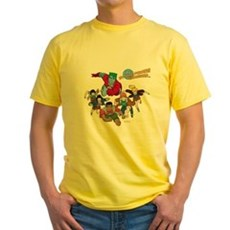 Captain Planet Powers Yellow T-Shirt
