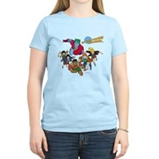 Captain Planet Powers Womens Light T-Shirt