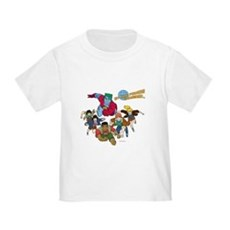 Captain Planet Powers Toddler T-Shirt