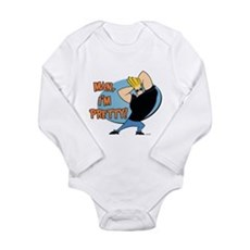Man I'm Pretty Long Sleeve Infant Bodysuit