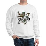 Anderson Tartan Lion Sweatshirt - Scottish lion rampant with the Anderson clan tartan and a banner with the family name. - Availble Sizes:Small,Medium,Large,X-Large,2X-Large (+$3.00) - Availble Colors: White,Ash Grey