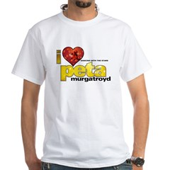 I Heart Peta Murgatroyd White T-Shirt