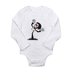 Grim Reaper Long Sleeve Infant Bodysuit