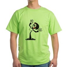 Grim Reaper Green T-Shirt