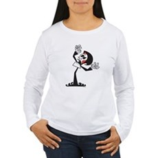 Grim Reaper Womens Long Sleeve T-Shirt