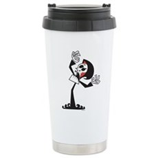 Grim Reaper Stainless Steel Travel Mug
