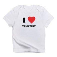 Custom I Heart Infant T-Shirt