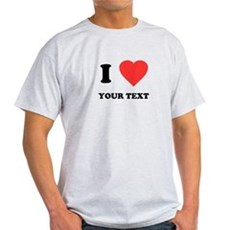 Custom I Heart Light T-Shirt