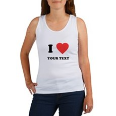 Custom I Heart Womens Tank Top
