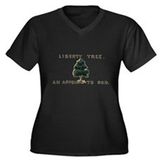 Liberty Tree Plus Size V-Neck Shirt