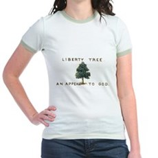 Liberty Tree Jr Ringer T-Shirt