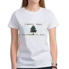 Liberty Tree Womens T-Shirt