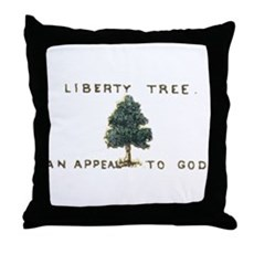 Liberty Tree Throw Pillow