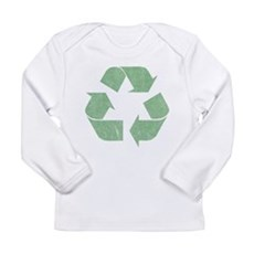 Vintage Recycle Logo Long Sleeve Infant T-Shirt