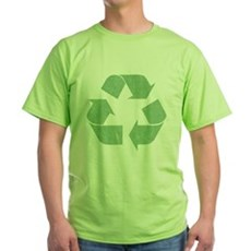 Vintage Recycle Logo Green T-Shirt