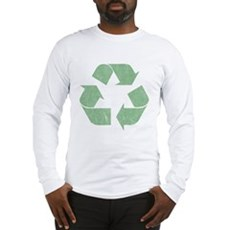 Vintage Recycle Logo Long Sleeve T-Shirt