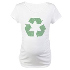 Vintage Recycle Logo Maternity T-Shirt