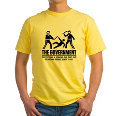 The Government Yellow T-Shirt