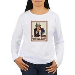 Afraid & Uniformed Women's Long Sleeve T-Shirt