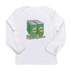 Beer Breakfast of Champions Long Sleeve Infant T-S
