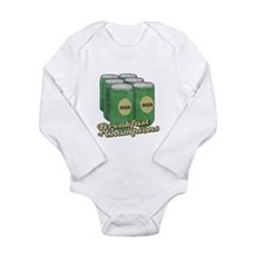 Beer Breakfast of Champions Long Sleeve Infant Bod