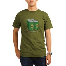 Beer Breakfast of Champions Organic Mens T-Shirt