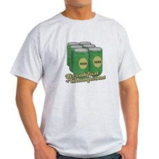 Beer Breakfast of Champions Light T-Shirt