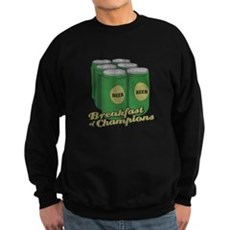 Beer Breakfast of Champions Dark Sweatshirt