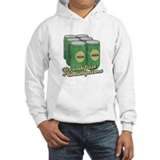 Beer Breakfast of Champions Hooded Sweatshirt