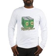 Beer Breakfast of Champions Long Sleeve T-Shirt