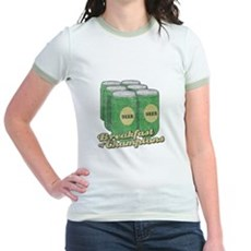 Beer Breakfast of Champions Jr Ringer T-Shirt