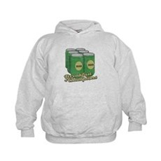 Beer Breakfast of Champions Kids Hoodie