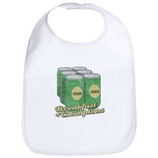 Beer Breakfast of Champions Bib