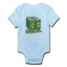 Beer Breakfast of Champions Infant Bodysuit