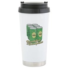 Beer Breakfast of Champions Stainless Steel Travel