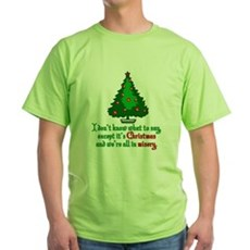 Christmas Vacation Misery Green T-Shirt