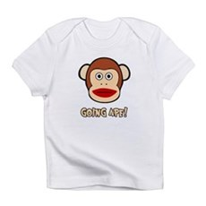 Sock Monkey Going Ape Infant T-Shirt