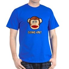 Sock Monkey Going Ape T-Shirt