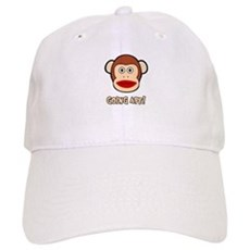 Sock Monkey Going Ape Cap