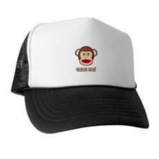 Sock Monkey Going Ape Trucker Hat