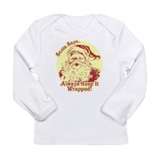 Always Keep It Wrapped Long Sleeve Infant T-Shirt