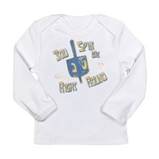 You Spin Me Right Round Long Sleeve Infant T-Shirt