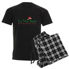 I'm Not Santa Mens Dark Pajamas