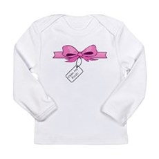 Open Me First Long Sleeve Infant T-Shirt
