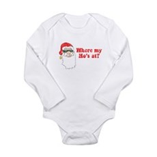 Where my Ho's at? Long Sleeve Infant Bodysuit